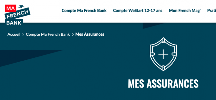 assurance french bank